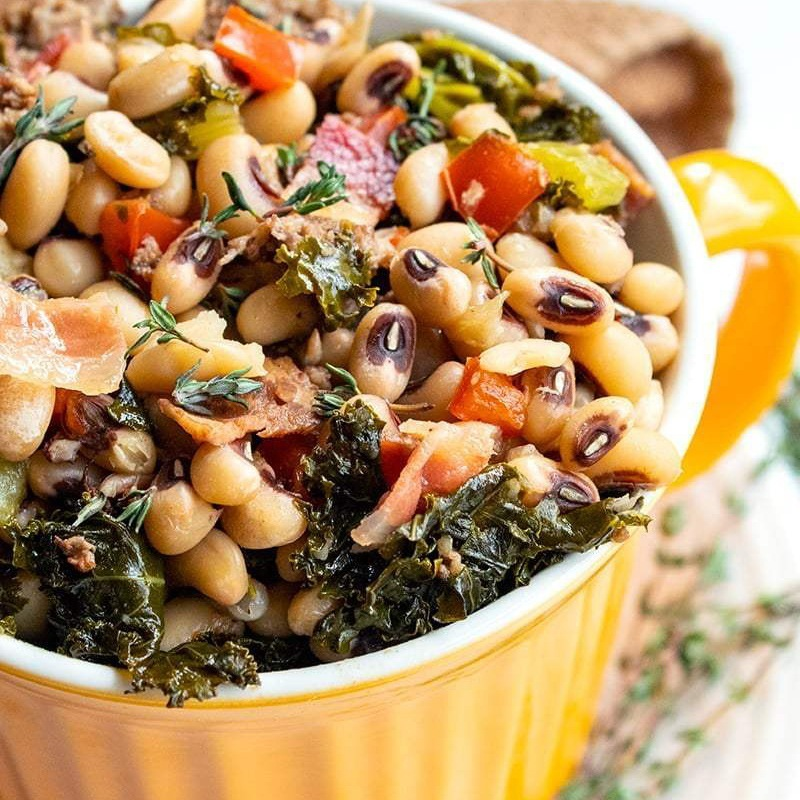 Black-eyed peas are great for your gut health