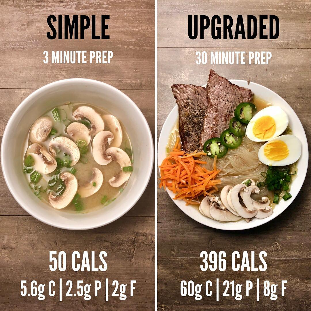 Simple vs Upgraded Miso Soup/Ramen. I use both of these dishes quite often. The …