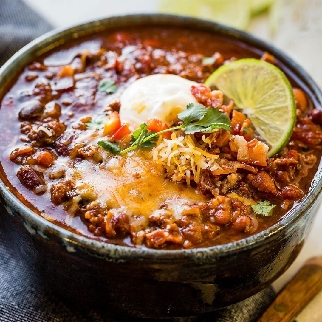 Have you ever been to a chili cook-off? This Instant Pot Chili is bringing home …