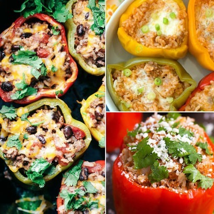 Our Favourite Instant Pot Stuffed Pepper Recipe