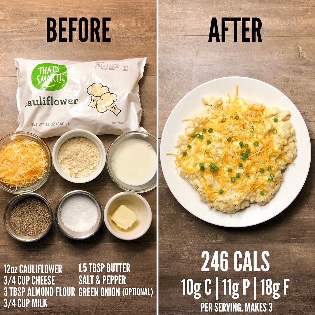 Cauliflower Mac & Cheese from Page 79 of The Meal Prep Manual-2nd Edition eBook….